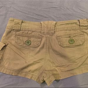 Z Co. Premium Jeans olive colored shorts